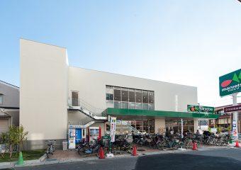 商業建築 行徳駅前2丁目PJ(マルエツ行徳店様)建替え新築工事 外観イメージ