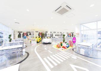 商業建築 カーチステラス仙台店様 新築工事 外観イメージ