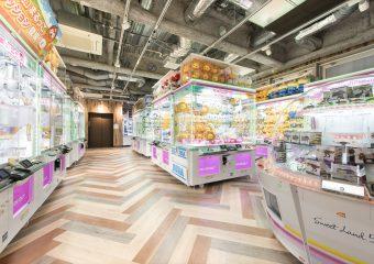 商業内装 セガ仙台店 新装工事一式 外観イメージ