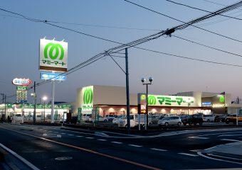 商業建築 マミーマート柏根戸店様 新築工事 外観イメージ