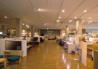 商業建築 ニトリ狛江店 新装工事 外観イメージ