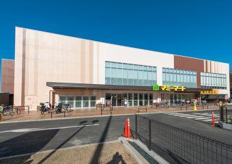 商業建築 マミーマート三室山崎店 新築工事 外観イメージ