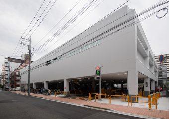 商業建築 西葛西6丁目PJ(オーケー西葛西店様) 新築工事 外観イメージ