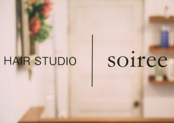 商業内装 一番町美容室Soiree 新装工事一式 外観イメージ