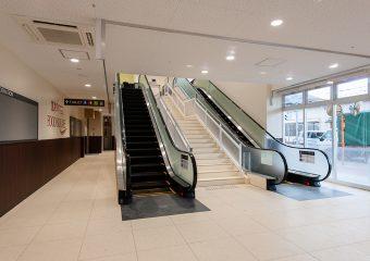 商業建築 フードスクエアカスミ咲が丘店様 新装工事 外観イメージ
