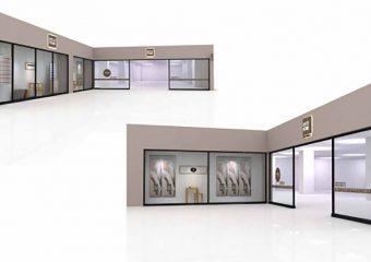 商業建築 デコホーム クロスガーデン多摩店 様 改装工事 外観イメージ