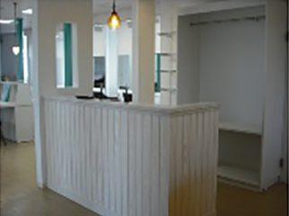 商業内装 DRAMATIC HAIR 様 店舗新装工事一式(内外装・電気・給排水・ガス・空調換気・サイン工事) 外観イメージ