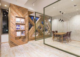 商業内装 住友不動産販売 宮城野通営業センター様 新装工事一式 外観イメージ