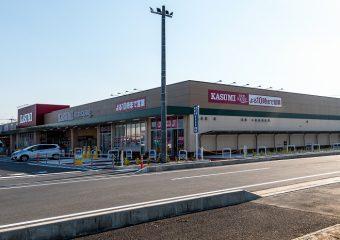 商業建築 ピアシティ大利根 新築工事 外観イメージ
