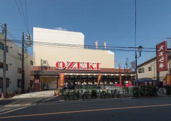 商業建築 常盤台2丁目PJ(オオゼキときわ台店様)新築工事 外観イメージ