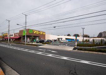 商業建築 マミーマート足立島根店 新築工事 外観イメージ